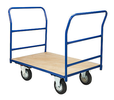 Platform Truck Warehouse Trolley Double Ended Heavy Duty Picking