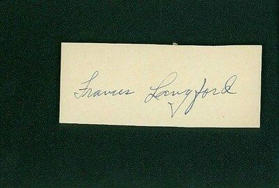 Movies Keenan Wynn Signed 2x4 Piece Of Paper