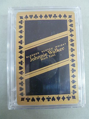 Johnnie Walker Black Label Scotch Whisky Playing Cards