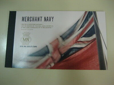 Dy8  Prestige Booklet Merchant Navy  Stamps