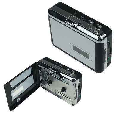 Portable Tape Cassette to Mp3 Micro SD TF Card Cassette to MP3 Converter Player
