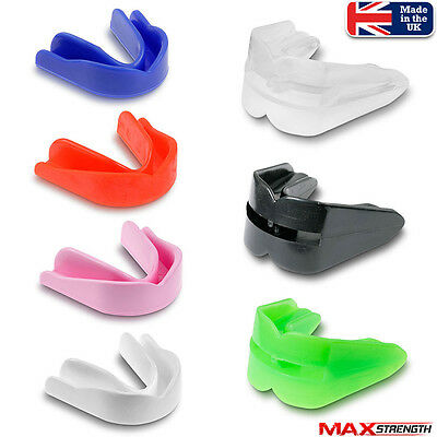 Air Gel Gum Shield Mouth Guard Teeth Protector Boxing MMA Rugby Adult Junior