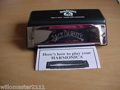 Jack Daniels Harmonica Brand New In Box From 2012