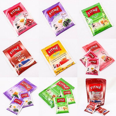 Fitne Herbal Tea Infusion Slimming Diet Weight Loss Detox Flavored Natural Herb