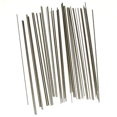 35 pcs Steel Wire For Clocks Sizes 0.7 to 4.00mm