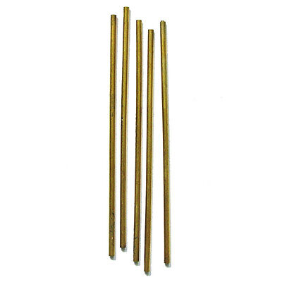 Hollow Clockmakers Brass Bushing Wire Outside Diameter 3.00mm Inside 1.00mm • £4.50