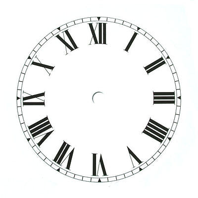 "152mm (6"") Round Replacement Clock Dial"