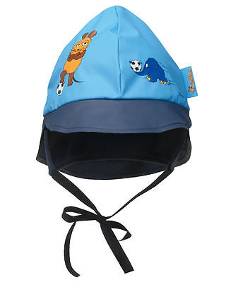 Playshoes Rain Hat Die Mouse & Elephant Football, Polyester Cotton Lining