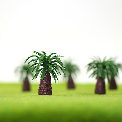 YS09 20 1.2'' Model Palm Trees  Sago Cycas Model Layout Train Scale 1/100 TT HO