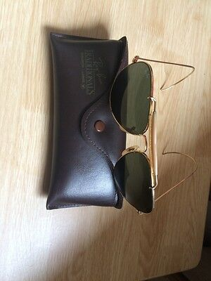 Vintage Genuine 1960s Ray-Ban General 62mm G-15 General Shooter Sunglasses