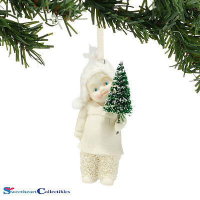 Department 56 Snowbabies 4045809 The Littlest Tree Ornament New 2015