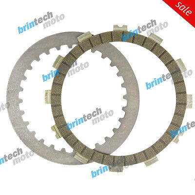 1982 For YAMAHA XT550 J Clutch Plate Kit - 91