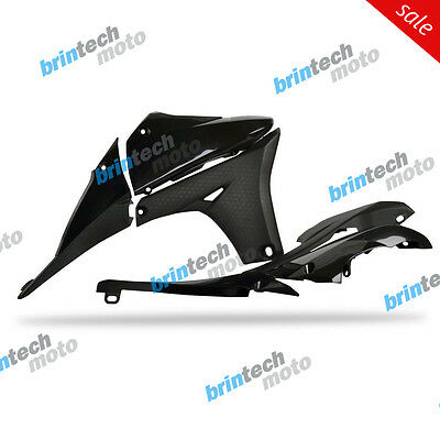 2013 For YAMAHA YZ450F D Polisport Radiator Scoops - 60