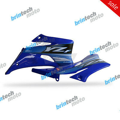 2009 For YAMAHA YZ450F Y Polisport Radiator Scoops - 80