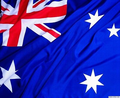 Fly AUSTRALIA 3x5 Feet Super-Poly Indoor/Outdoor Australian FLAG Country Banner