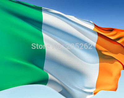Erin bratach na hEireann 3x5' national flag Ireland Country 90x150cm Eire Banner