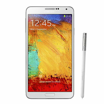 Samsung Galaxy Note 3 III Phone N9005 32GB 13MP LTE Android Unlocked White
