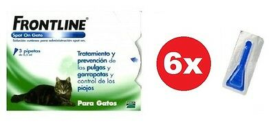 ANTIPARASITARIO FRONTLINE SPOT ON GATOS (6 pipetas sueltas)