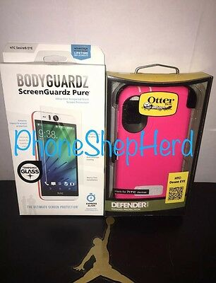 sale retailer 47445 eb59a NEW GENUINE OEM OtterBox Defender Series Case for HTC Desire EYE - Pink