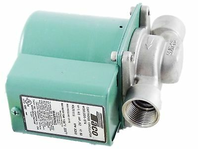 "Taco 006-ST4 Stainless 3/4"" 115V 1/40HP Threaded Cartridge Circulator 006ST4"
