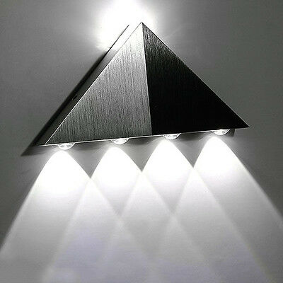 Modern Wall Light Indoor Up & Down 5W LED Sconce Lighting Lamp Cool White GE