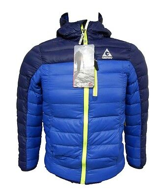 Gerry Boys Sweater Down Jacket with Packable Pillow Bag - Deep Sky