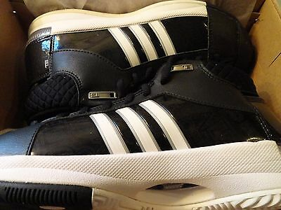 Adidas Women's TS Pro Model Shoe Team 232061 Basketball Black / White Size 7
