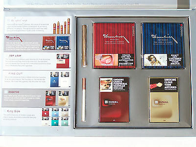 Very Rare Dunhill 'house Of Dunhill' Cigarette Cigar Display Presenter Pack