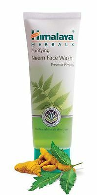 Himalaya Herbals Purifying Neem Face Wash100mL pack go away Pimples Oz seller