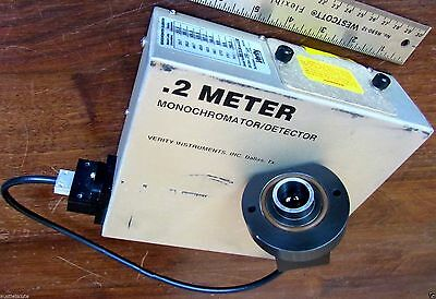 Verity .2 Meter Monochromator / Detector - EP200Mmd w/ Fiber Optic Cable & Lens