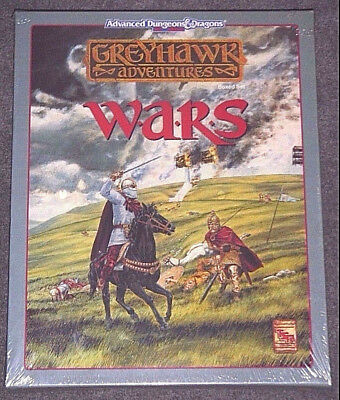 AD&D Greyhawk Adventures Wars Boxed Set - TSR {NEW-SEALED-SHRINK-MINT} <RARE>