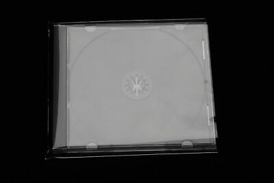 50 Pieces Protective covers for Jewel Case Box out hoch transparent Film 140x150