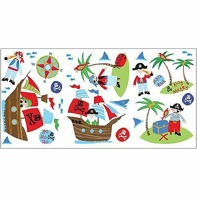 Pirates 24 Wall Stickers New Room Decor