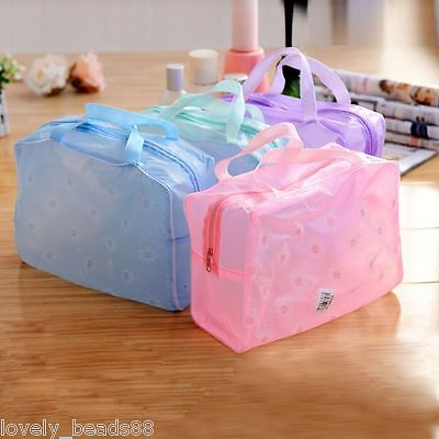 Makeup Cosmetic Toiletry Portable Organizer Travel Pouch Wash Toothbrush Bag