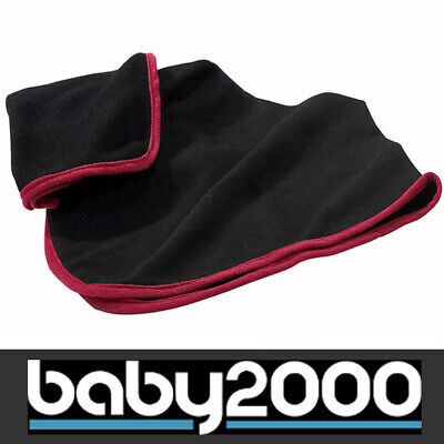 *Sale* Babymoov Spare Replacement Blanket for Changing Bag 70x70cm Black Red BN