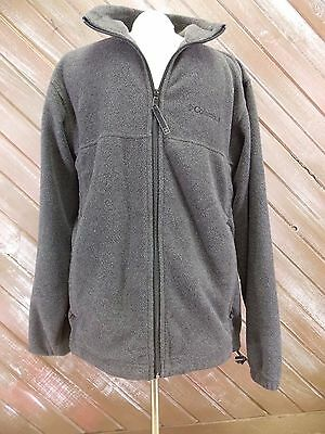 Columbia Sportswear Company Fleece Jacket Zip Up Polyester Men's Size M