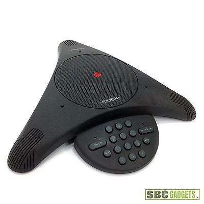 Polycom SoundStation Conference Phone w/ Wall Module (P/N: 2201-03308-001)