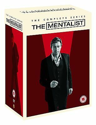 The Mentalist Complete Series Seasons 1, 2, 3, 4, 5, 6 & 7 DVD Box Set 1 - 7 R4