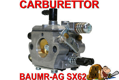 Carburettor Carby Carb for Baumr-Ag SX62 62cc Chainsaw Chain Saw
