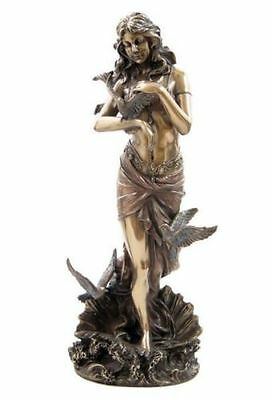 11 Inch Aphrodite w/ Doves Venus Statue Greek Sculpture Rome Collectible Museum
