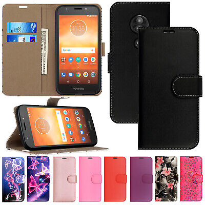 For ALL MOTOROLA PHONE Models Premium Leather Magnetic Flip Wallet Case Cover