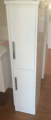 1350mm Bathroom  Tallboy with Square Handles on Kickboard