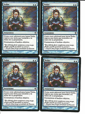 mtg Magic 4x Deprive ( Vedar )  Spanish GOOD Rise Of The Eldrazi