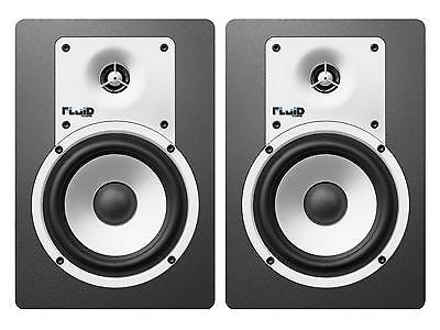"FLUID AUDIO C5W (coppia) Coppia studio monitor attivi 5""/1"" 40w"