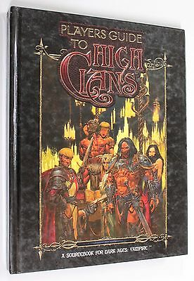 DARK AGES VAMPIRE PLAYER'S GUIDE TO HIGH CLANS 2003 White Wolf WW20007 VERY RARE