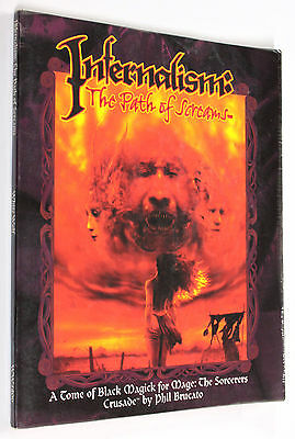 MAGE THE SORCERERS CRUSADE INFERNALISM PATH OF SCREAMS 1998 White Wolf #WW4806