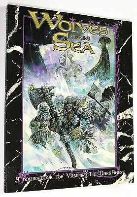 VAMPIRE THE DARK AGES WOLVES OF THE SEA 1999 White Wolf #WW2820