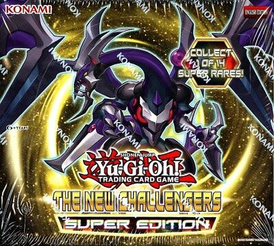 Yugioh The New Challengers Super Edition Box Blowout Cards
