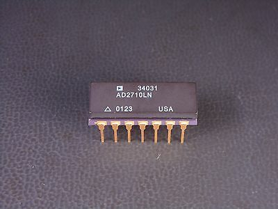 AD2710LN Analog Devices +/- 10.000V Ultrahigh Precision Voltage Reference NOS