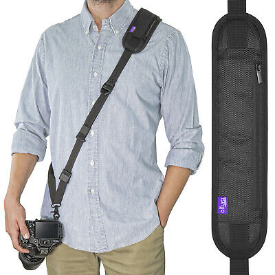 Rapid Fire™ Sling Shoulder Camera Neck Strap with Quick Release by Altura Photo®